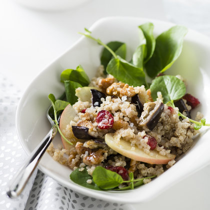 quinoa-roasted-eggplant-apple-salad-with-cumin-vinaigrette-amy-neunsinger