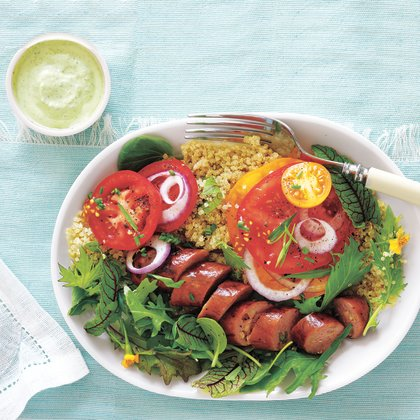 tomatoes-with-sausage-and-green-goddess-dressing