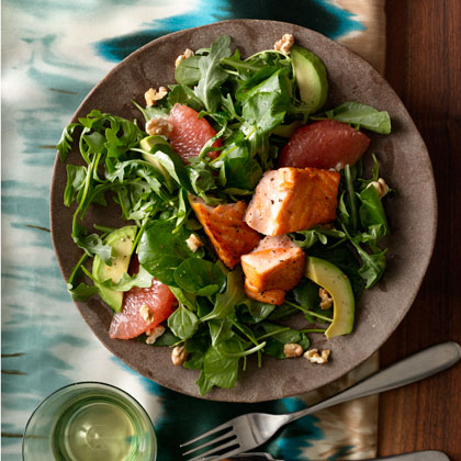 Grapefruit-and-Avocado-Salad-Seared-Salmon