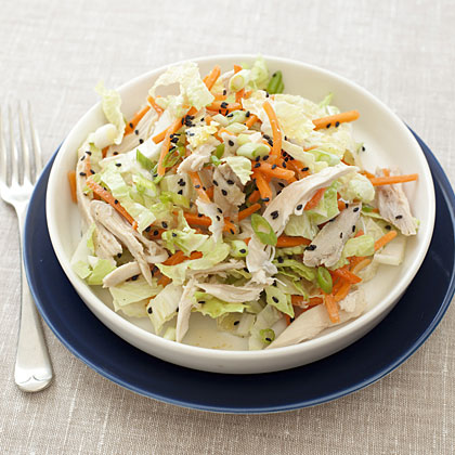 Chinese Chicken Cabbage Salad With Peanut Sauce Health Com