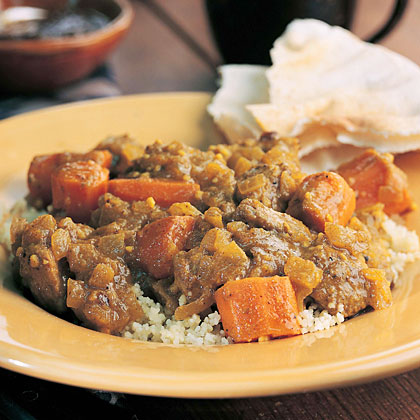Curried Lamb and Carrots