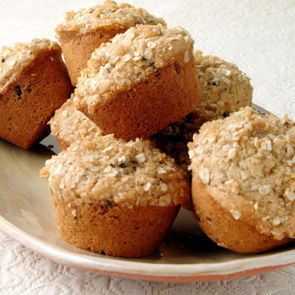Oat-Topped Fig Muffins