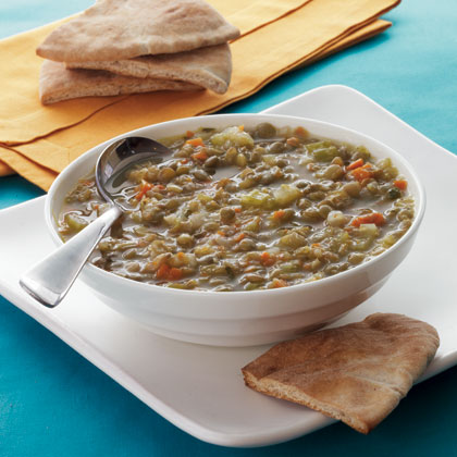 lentil-soup-toasted-pita