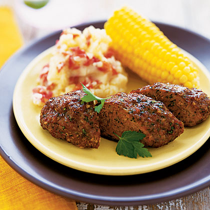 Mini Meat Loaves with Corn and Potatoes - Health.com
