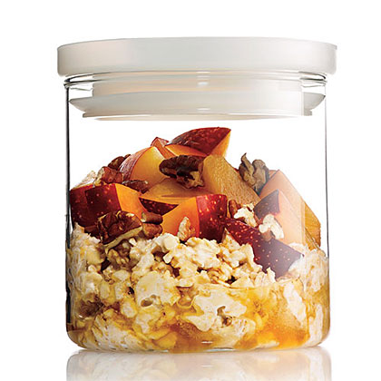 Overnight Oats With Stone Fruit