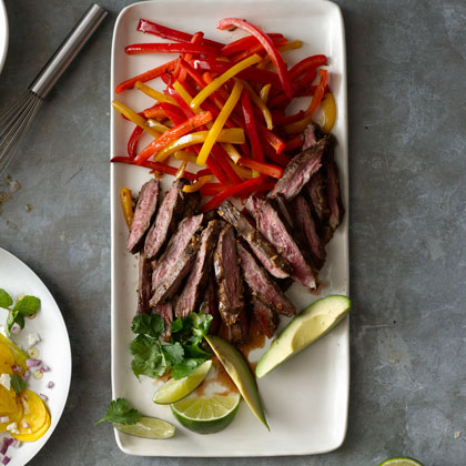 Pepper Steak Fajitas