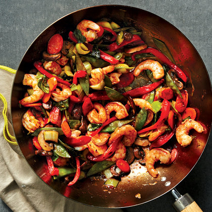 shrimp-vegetable-stir-fry-sesame-ginger-recipe