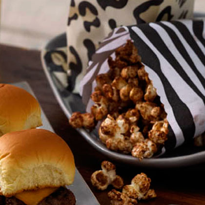 Vanilla and Cinnamon-Sugar Popcorn