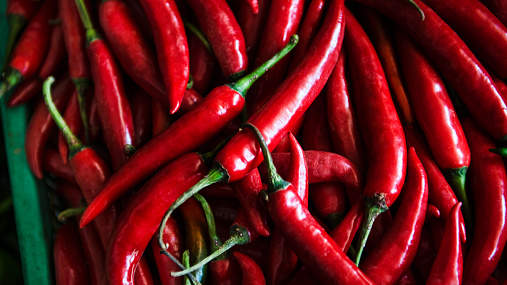 chili peppers hot spicy cayenne pepper