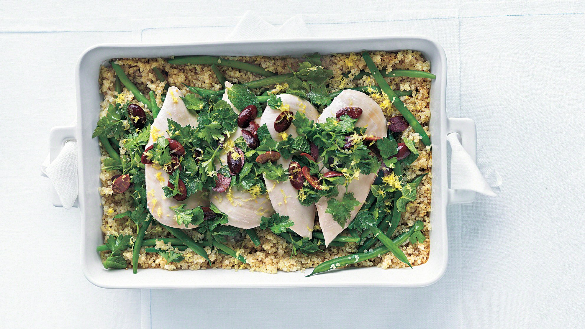 quinoa-roasted-chicken-with-olive-gremolata