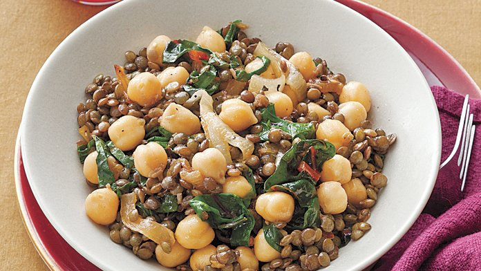 lentil-and-chick-pea-salad