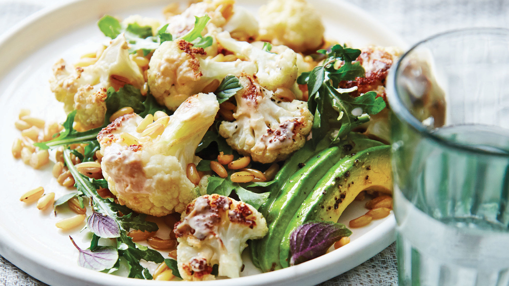 kamut-salad-roasted-cauliflower-avocado-ancient-grains-recipe