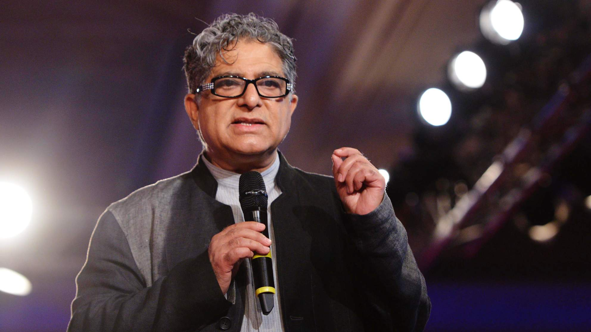Dr. Deepak Chopra Shares His Tips for Managing Anxiety and Making a Personal Transformation