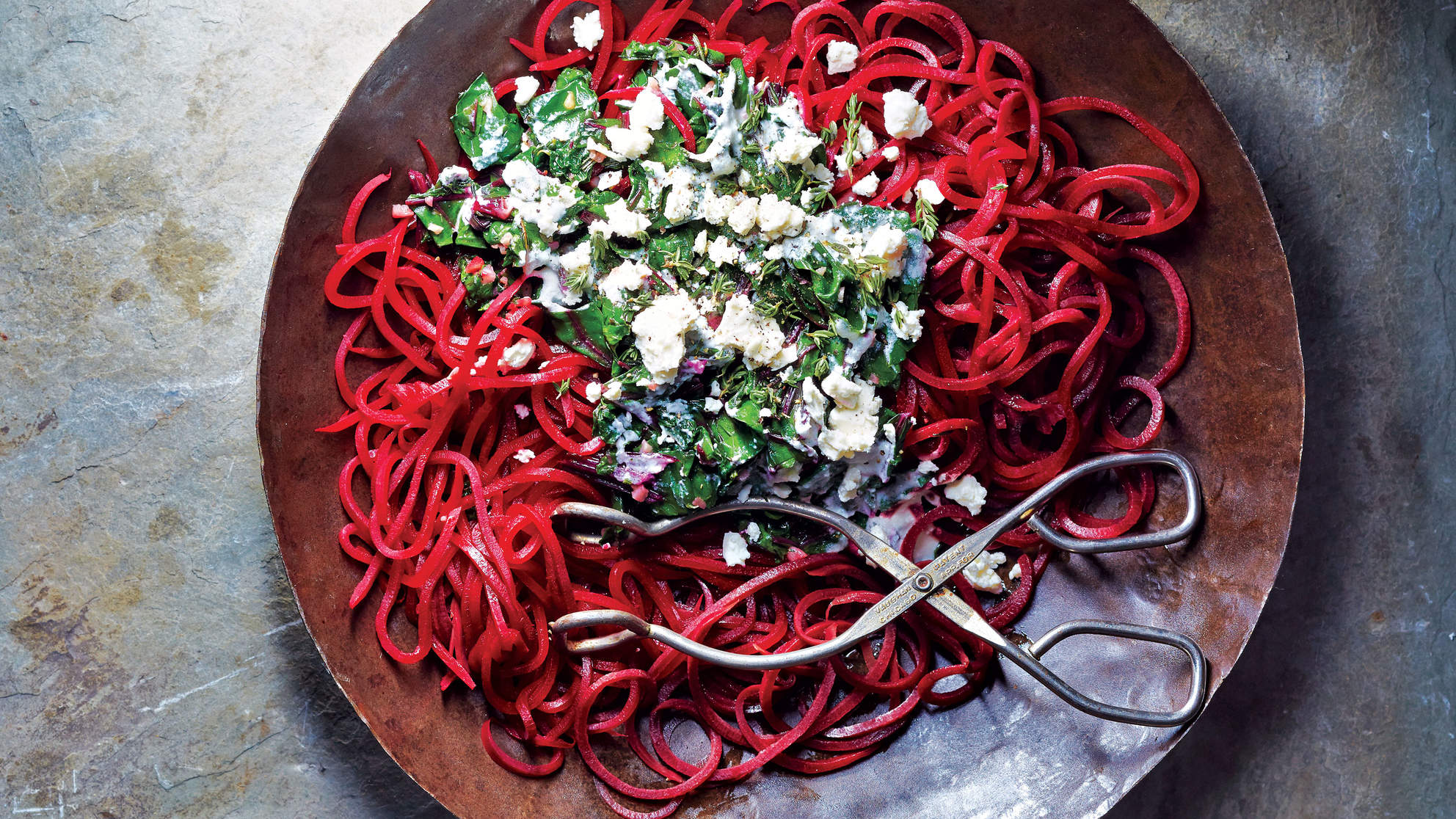 beet-pasta-beet-greens-goat-cheese-noodles-made-healthy