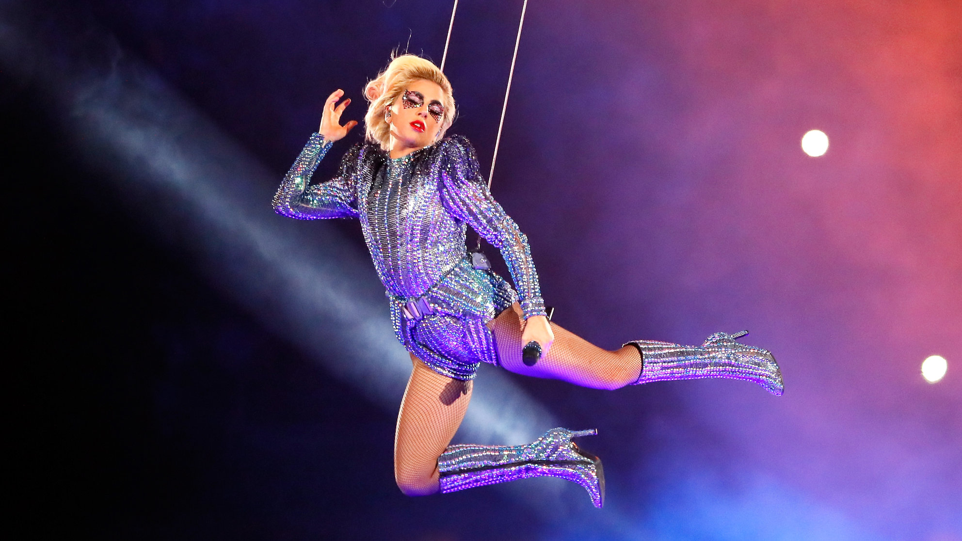 Lady Gaga Worked Out Like Crazy to Prep for Her Epic Super Bowl Performance