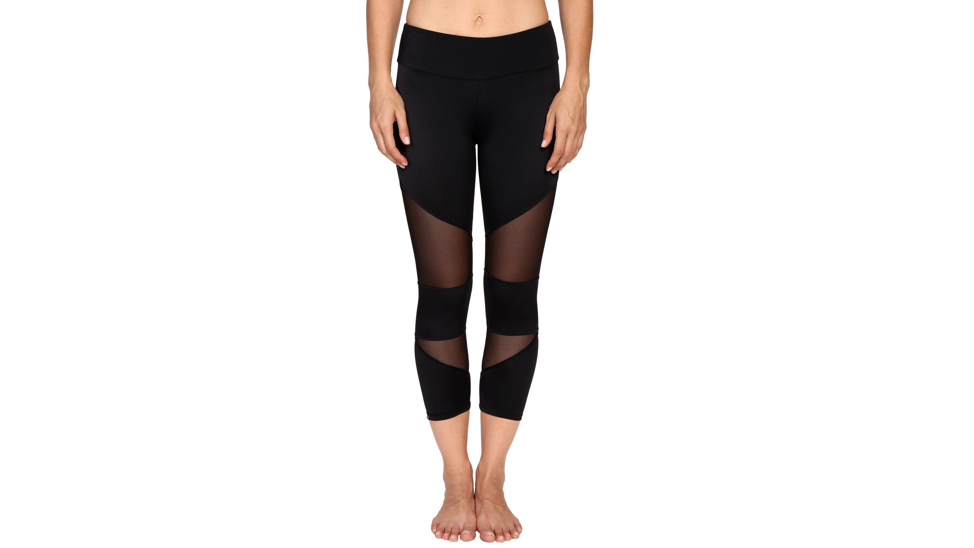 8 Mesh-Paneled Workout Leggings We're Obsessed With Right Now