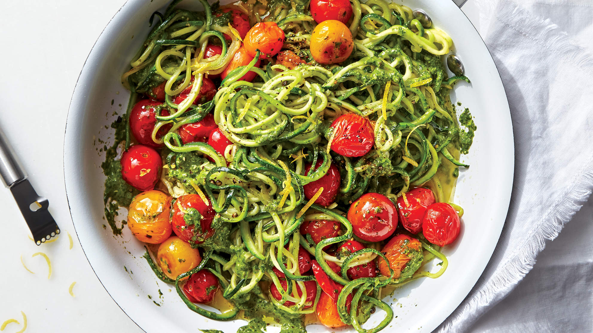 zoodles-tomatoes-spinach-caper-pesto-extra-tomato-recipes
