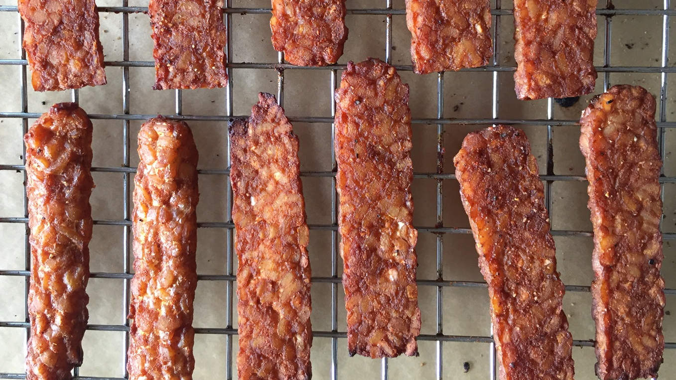 tempeh-veggie-bacon