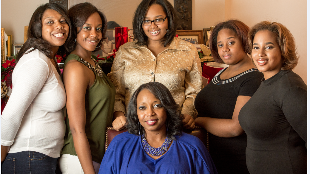 Candace Henley family