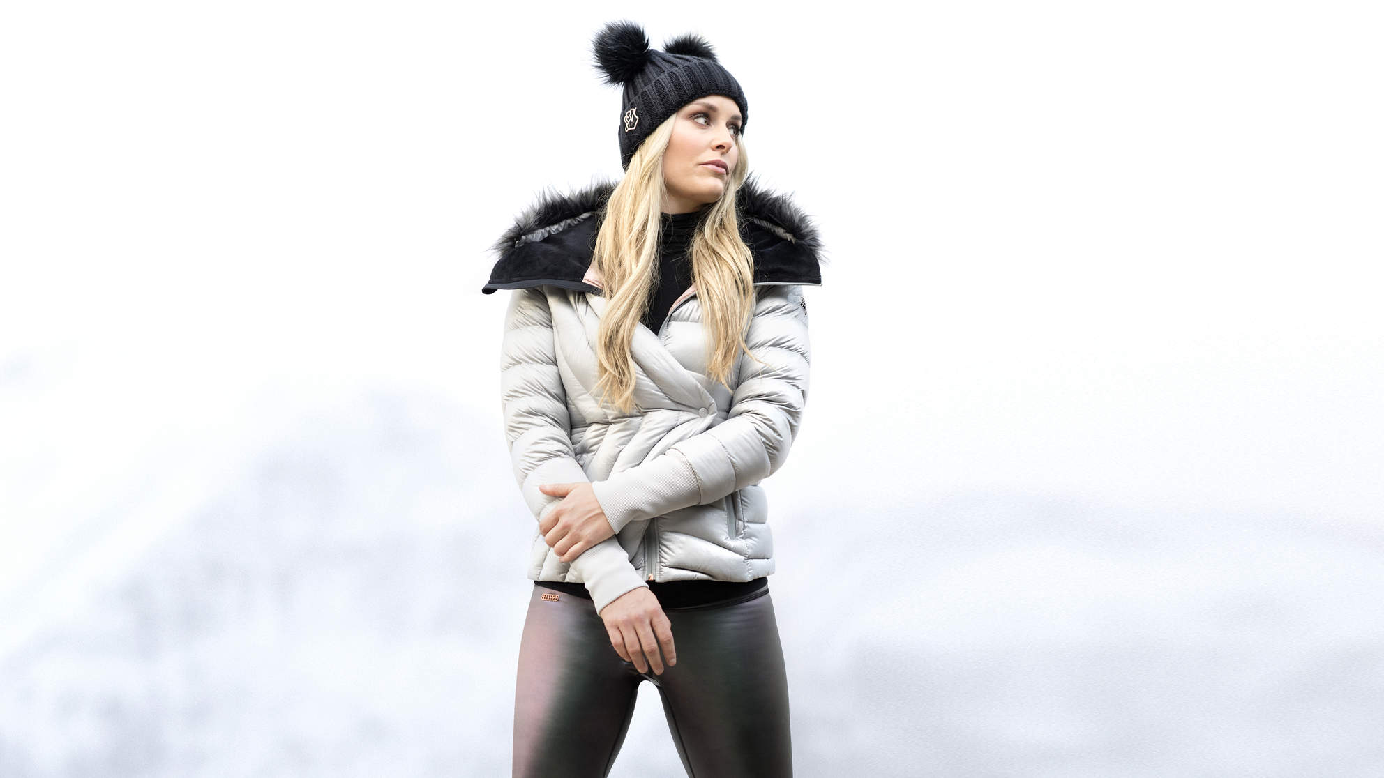 Lindsey Vonn on Her New Under Armour Collection:  I Want Everyone to Feel Confident and Sexy, and Also Not Freeze