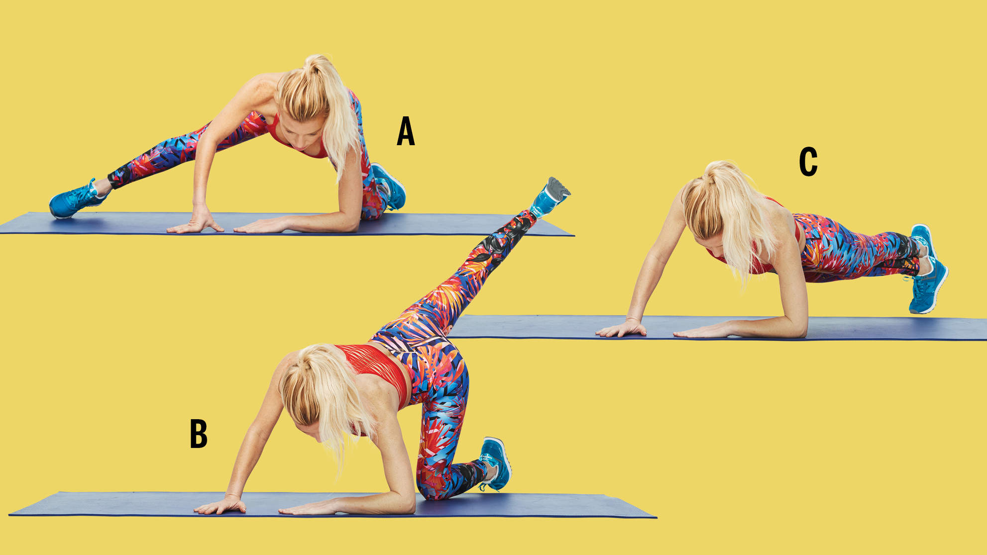 arabesque sous-sous plank attitude combo tracy anderson gut check