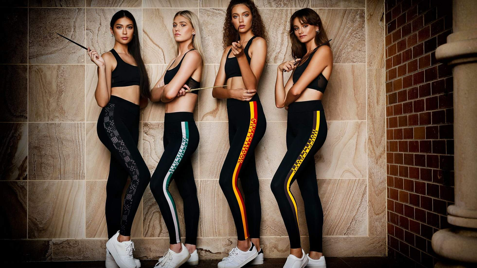 Team Hogwarts leggings