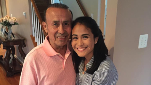 Lisette Carbajal and dad Jose