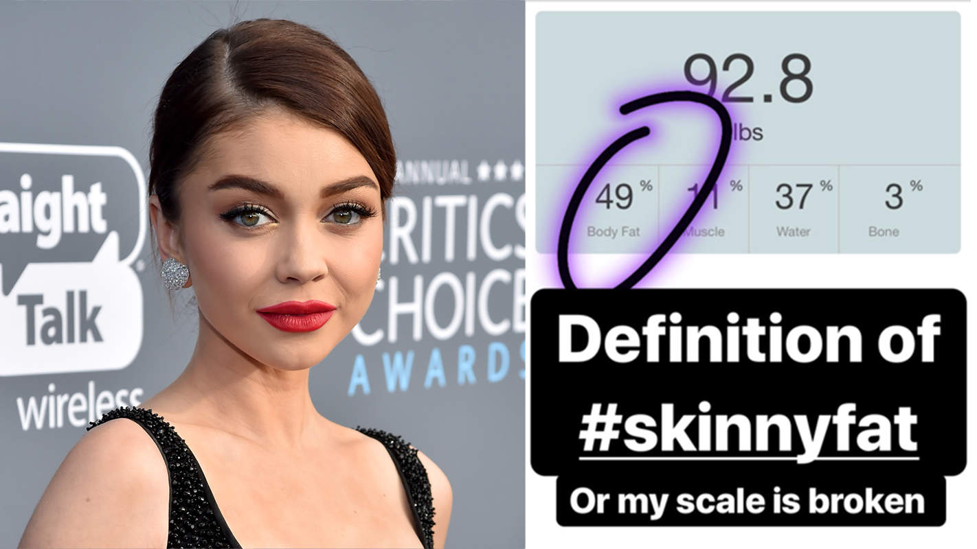 Sarah Hyland Weighs 92 Lbs. and Has 49% Body Fat—but Is That Even Possible?