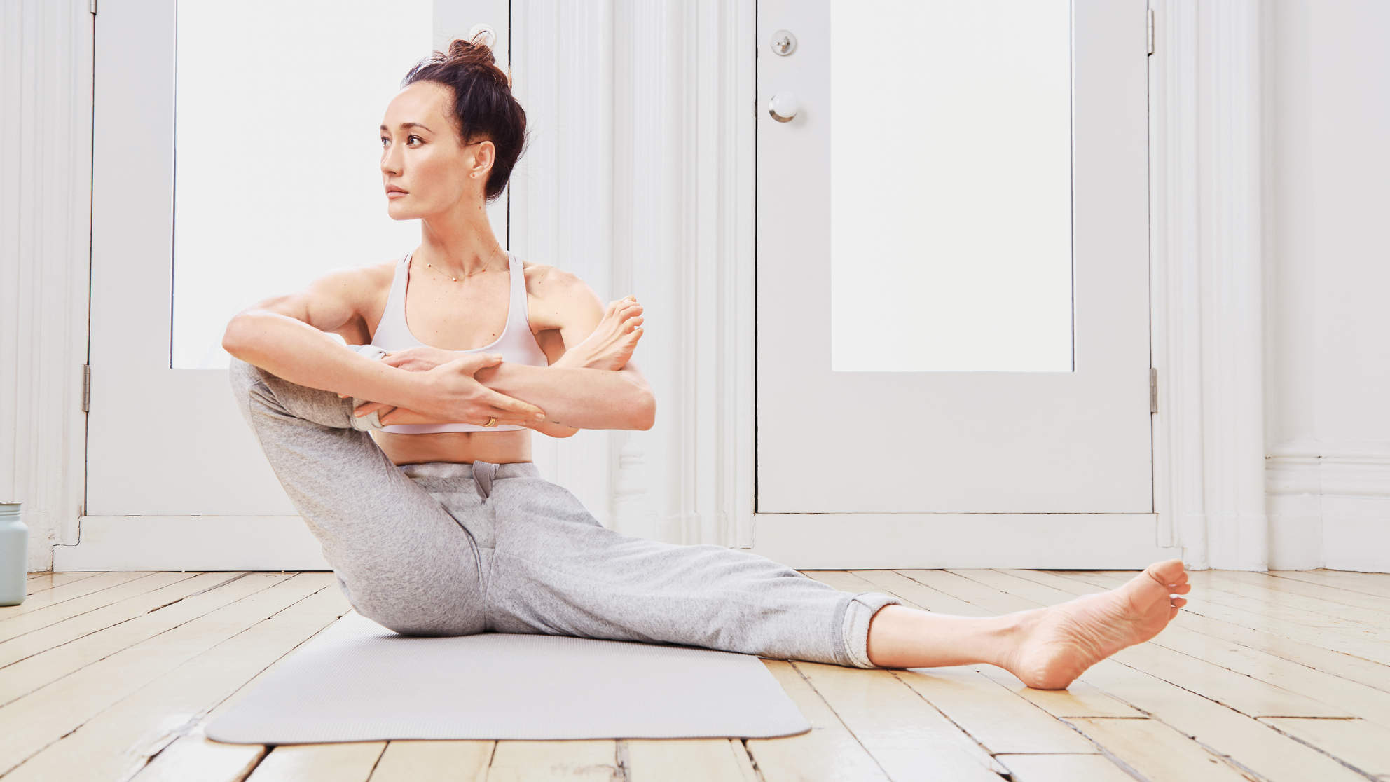 The Hatha Yoga Flow 'Designated Survivor' Star Maggie Q Swears By