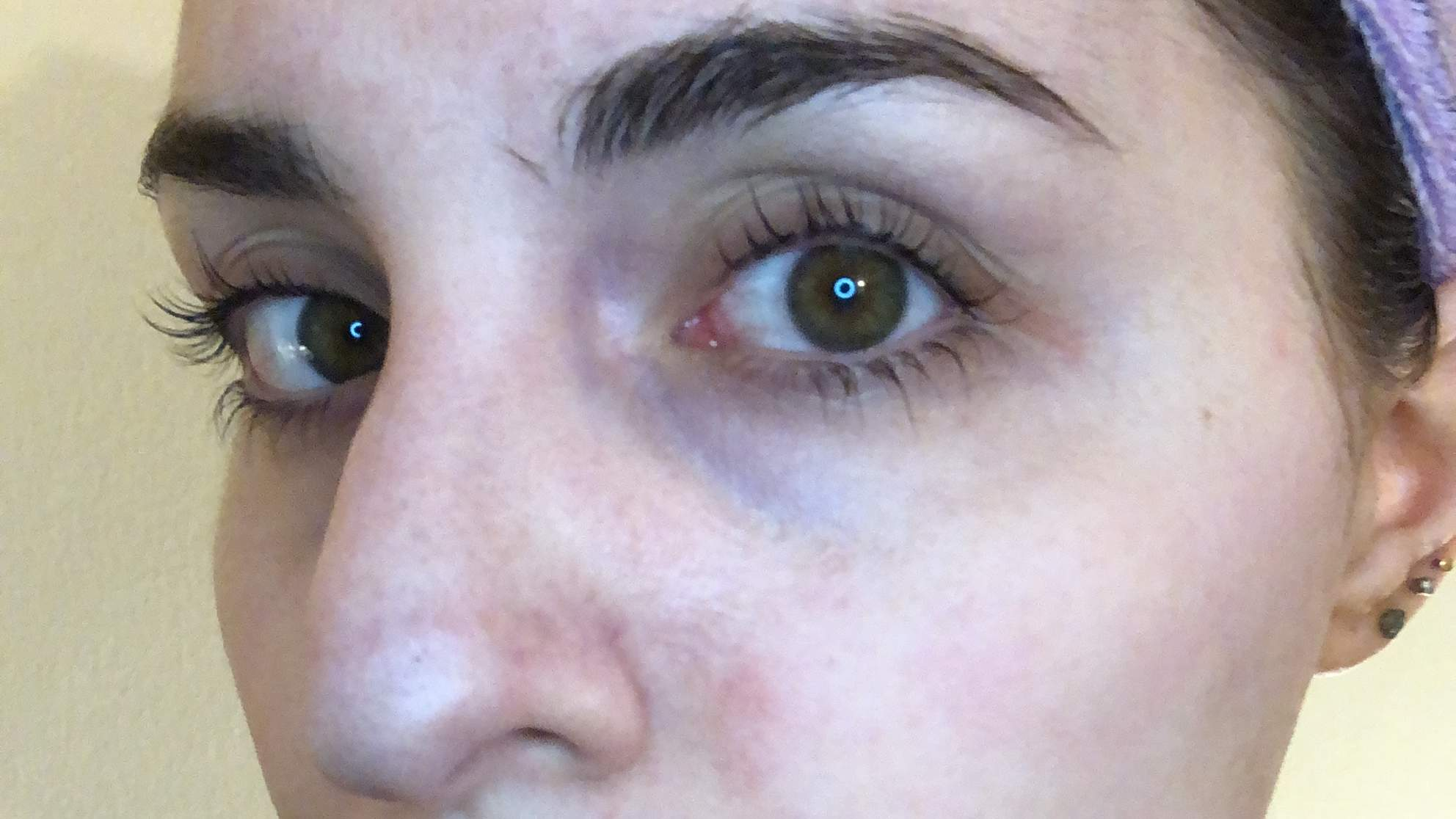 Lashes After Lash Lift Side View