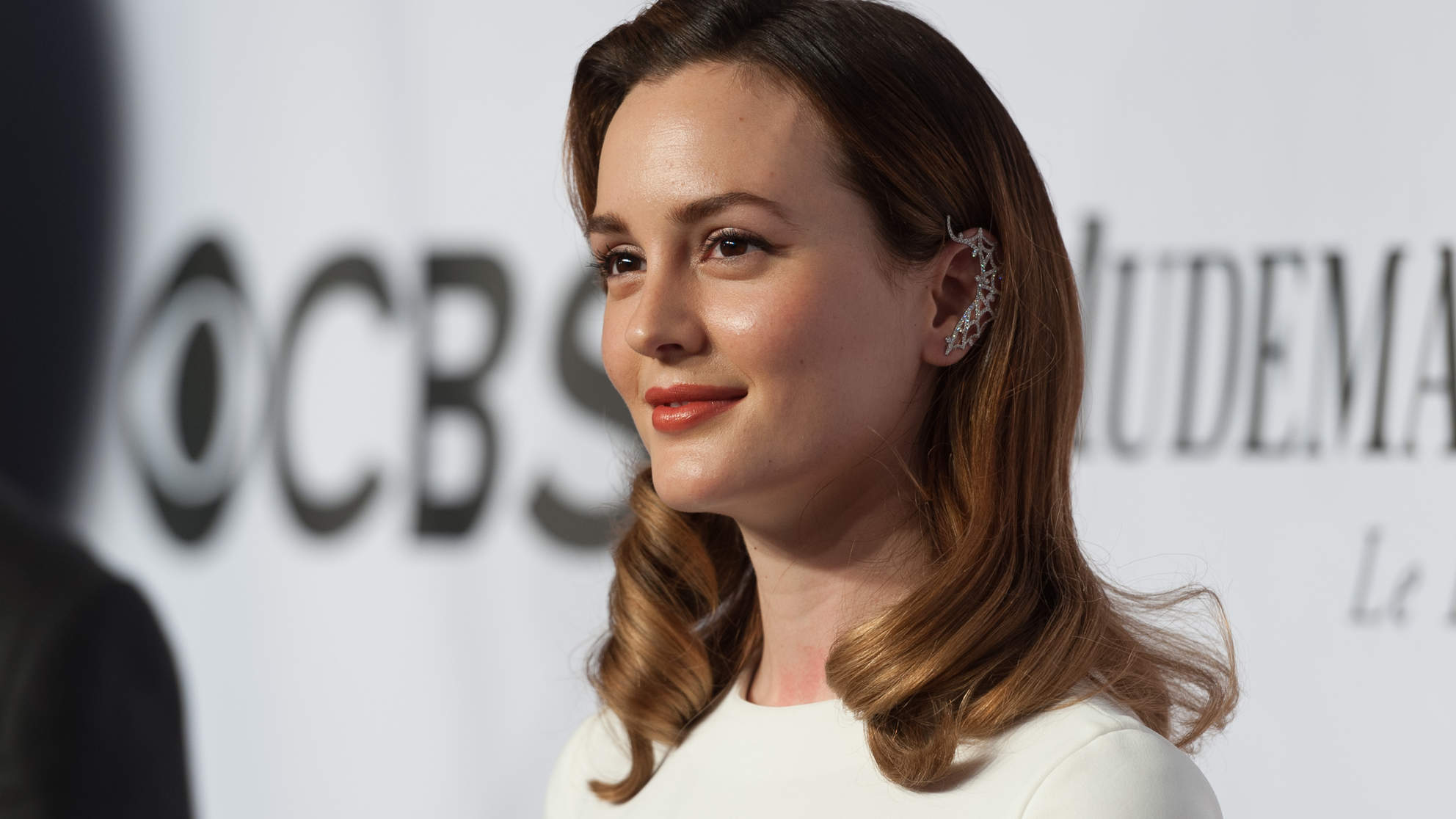 Leighton Meester Just Debuted Platinum Blonde Hair, and Blair Waldorf Has Left the Building