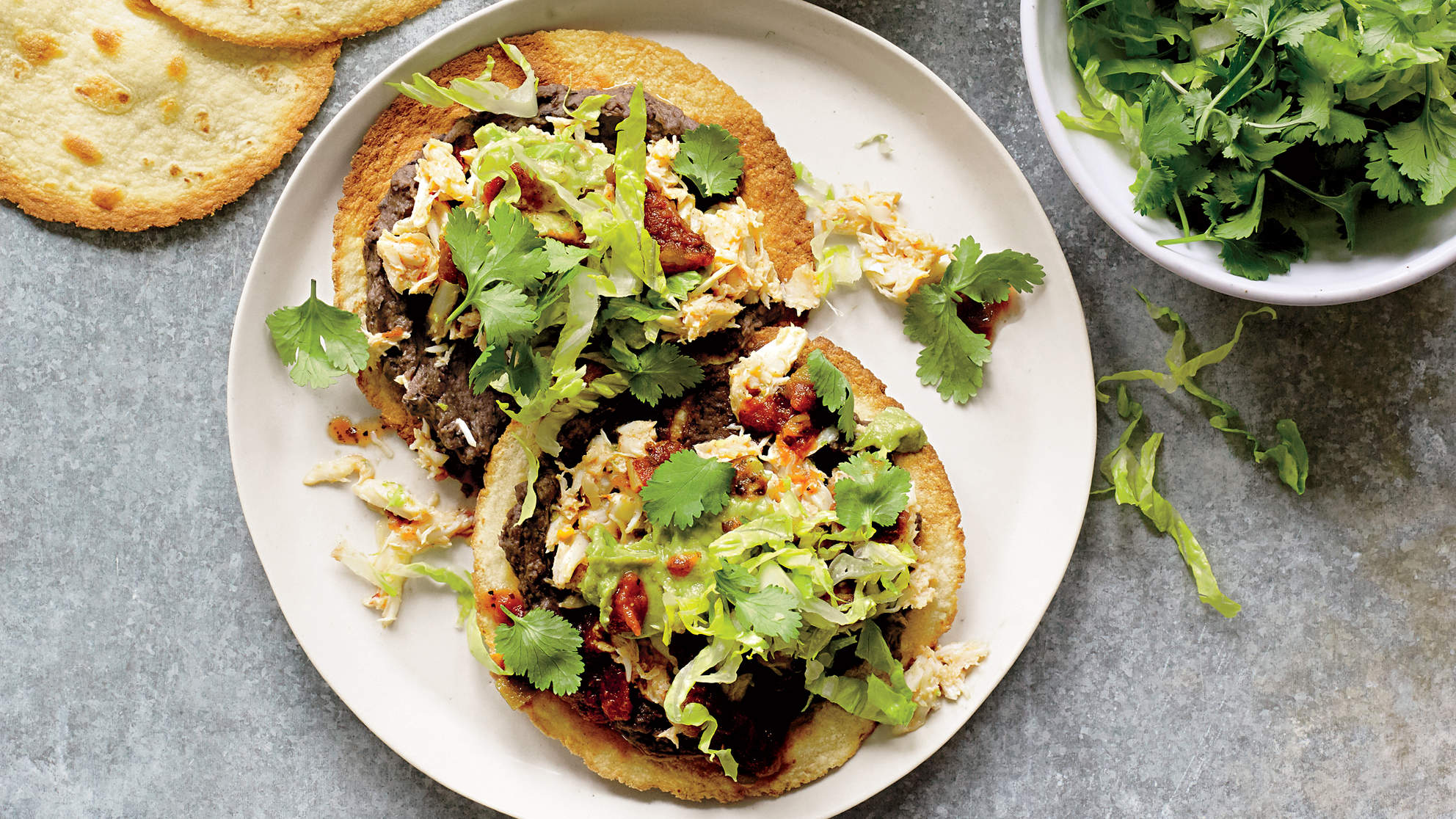 spicy-crab-avocado-tostadas-healthier-mexican-recipes