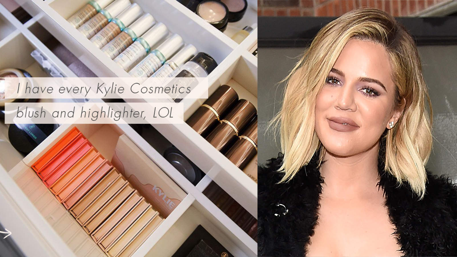 Khloé Kardashian Spills on the Beauty Products She Actually Uses