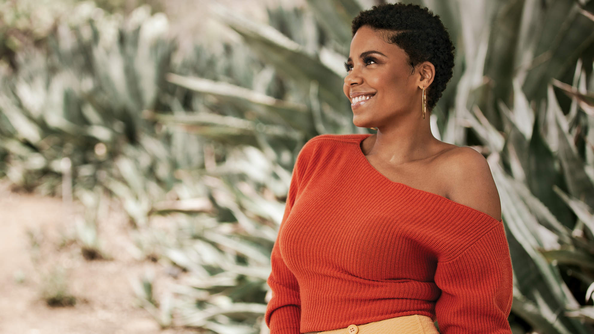 "Sanaa Lathan Talks Self-Care, Body Image, and That ""Bizarre  Beyonce-Biting Rumor"
