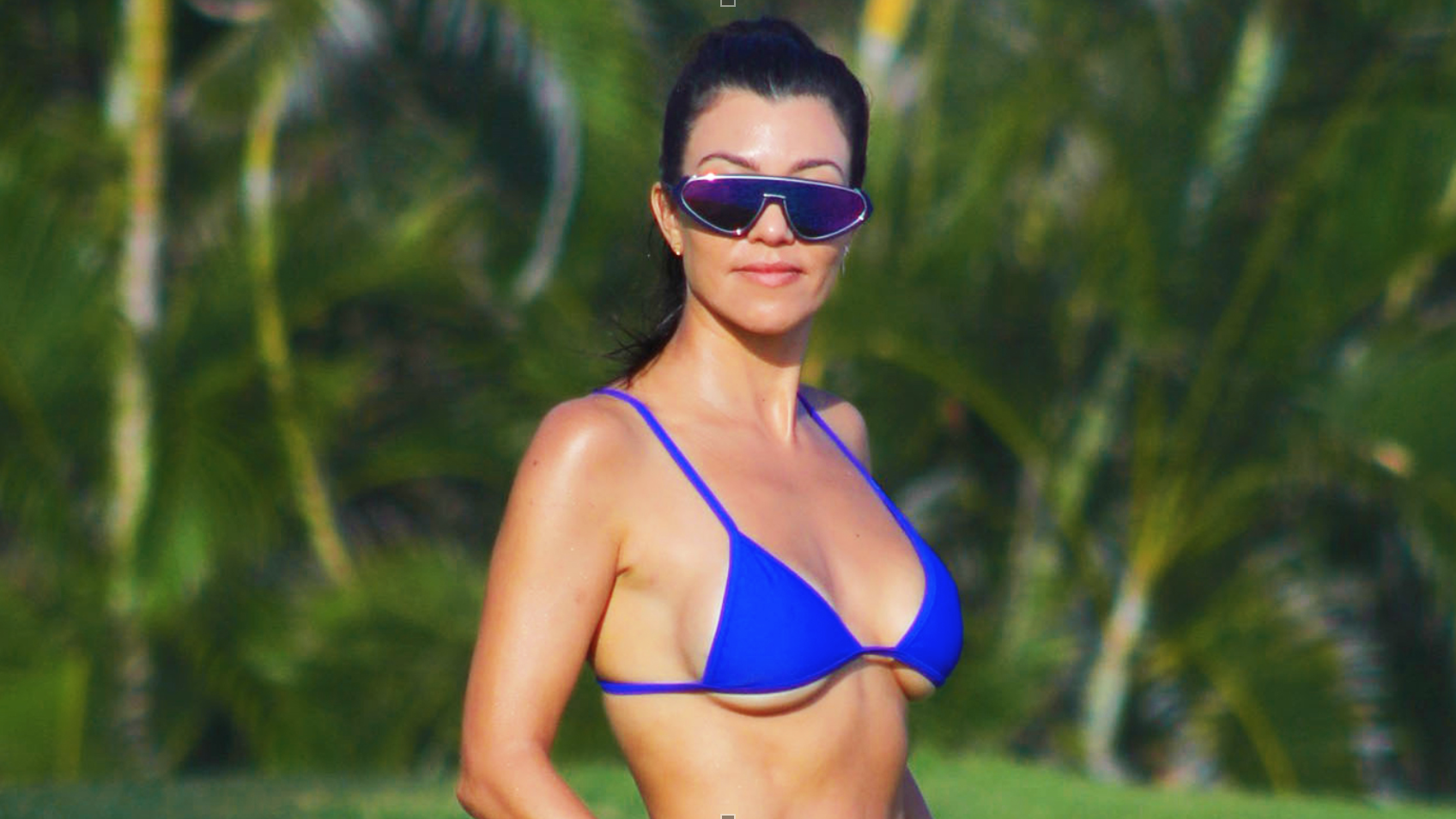 Kourtney Kardashian's $3 Secret to Maintaining a Flat Stomach and Nixing Cellulite