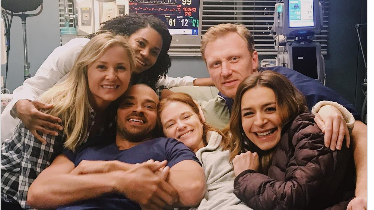 These Grey's Anatomy Cast Members Shared the Sweetest Photos from Set Before Final Episode