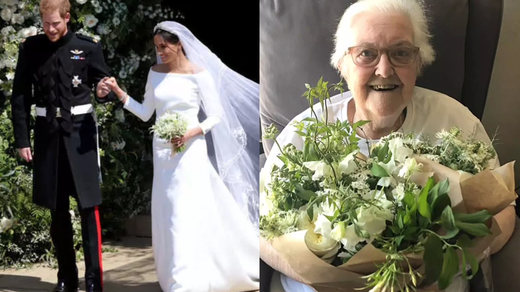 Harry and Meghan's Royal Wedding Flowers Were Turned Into Bouquets for Hospice Patients