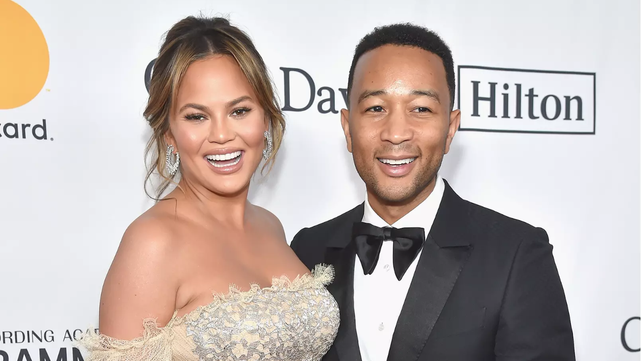 Chrissy Teigen and John Legend Share Their Son's Name and Introduce Him in Adorable First Photo