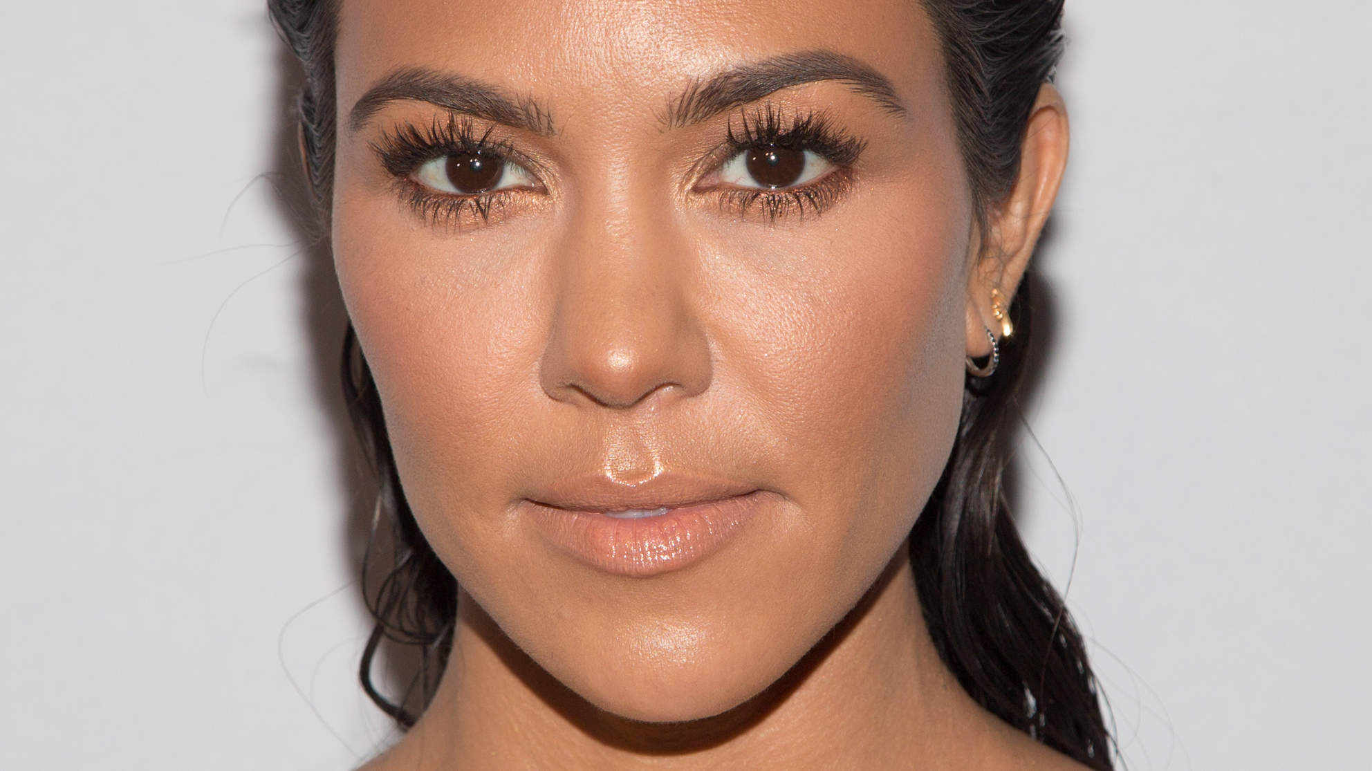 This Is Kourtney Kardashian's Favorite Foundation for Her Sensitive, Acne-Prone Skin