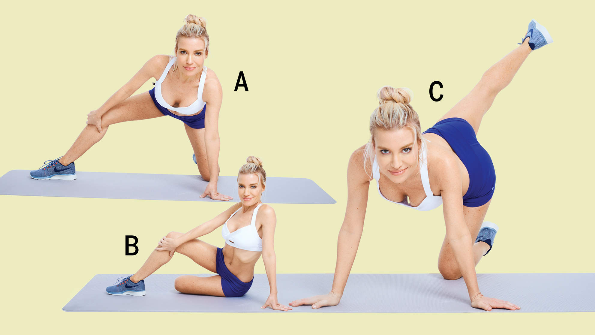 The 7 Moves Tracy Anderson Swears by for a Perkier Butt