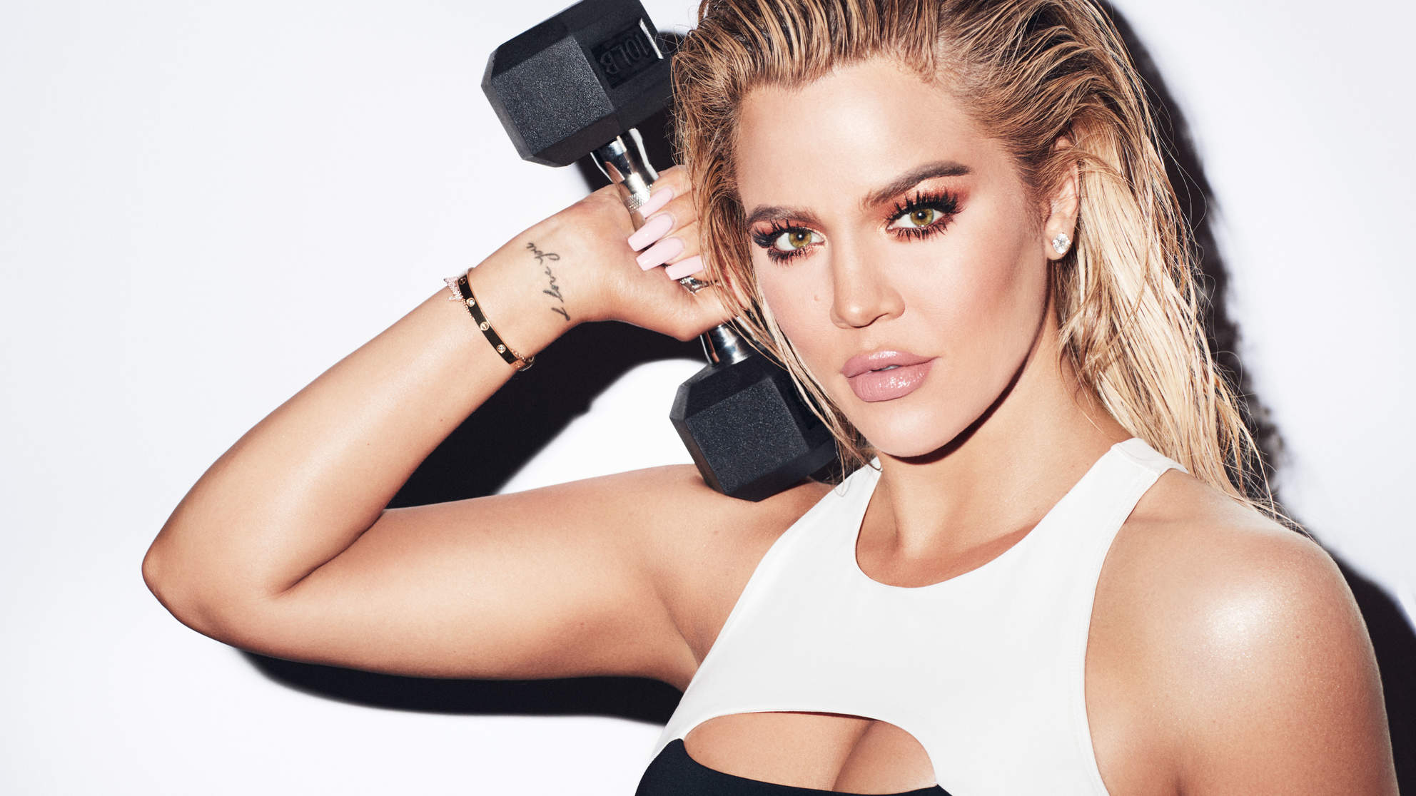 Khloe Kardashian for Good American Performance