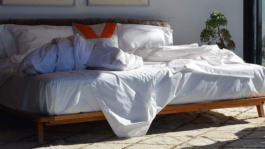I'm Obsessed With These Organic Cotton Bed Sheets—and They're on Amazon