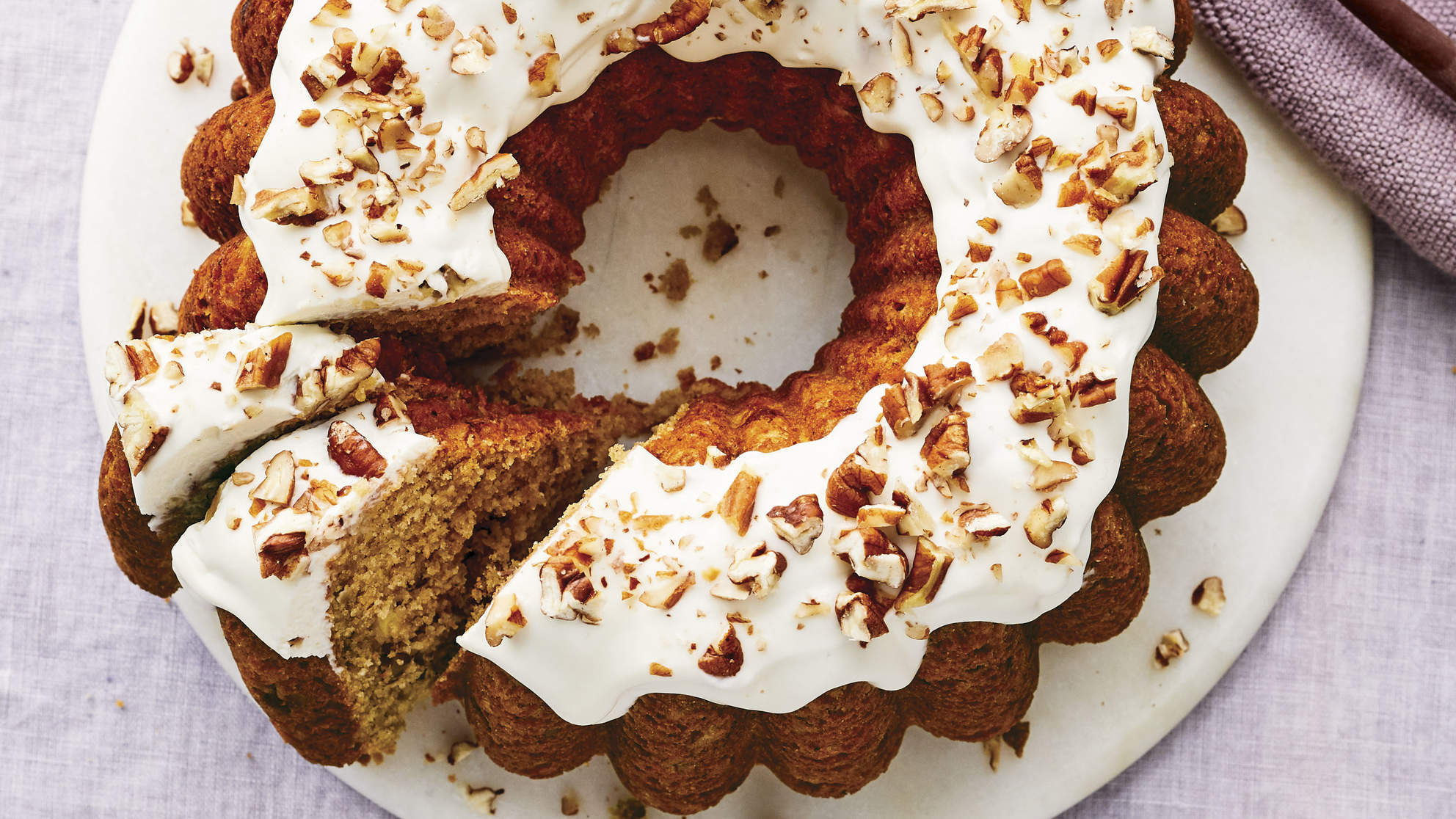 Tropical Fruit Bundt Cake