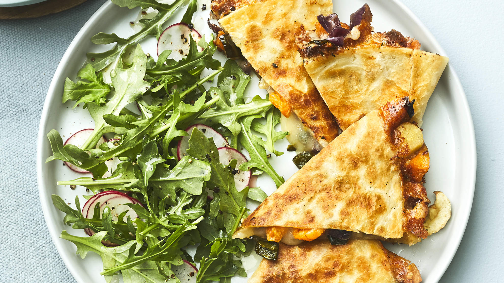 Roasted Sweet Potato Quesadillas