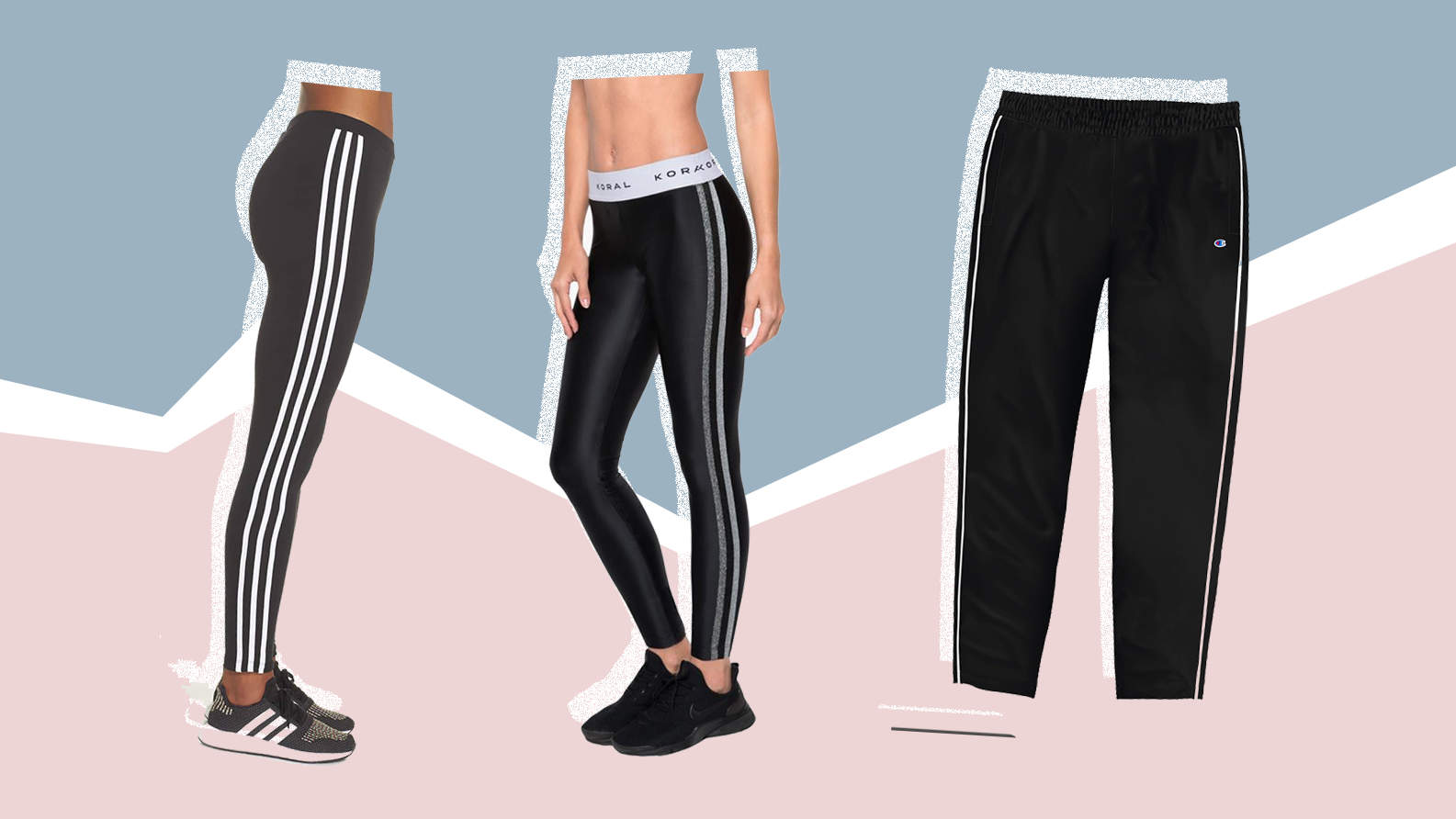 stripe-leggings-adidas-koral-champion