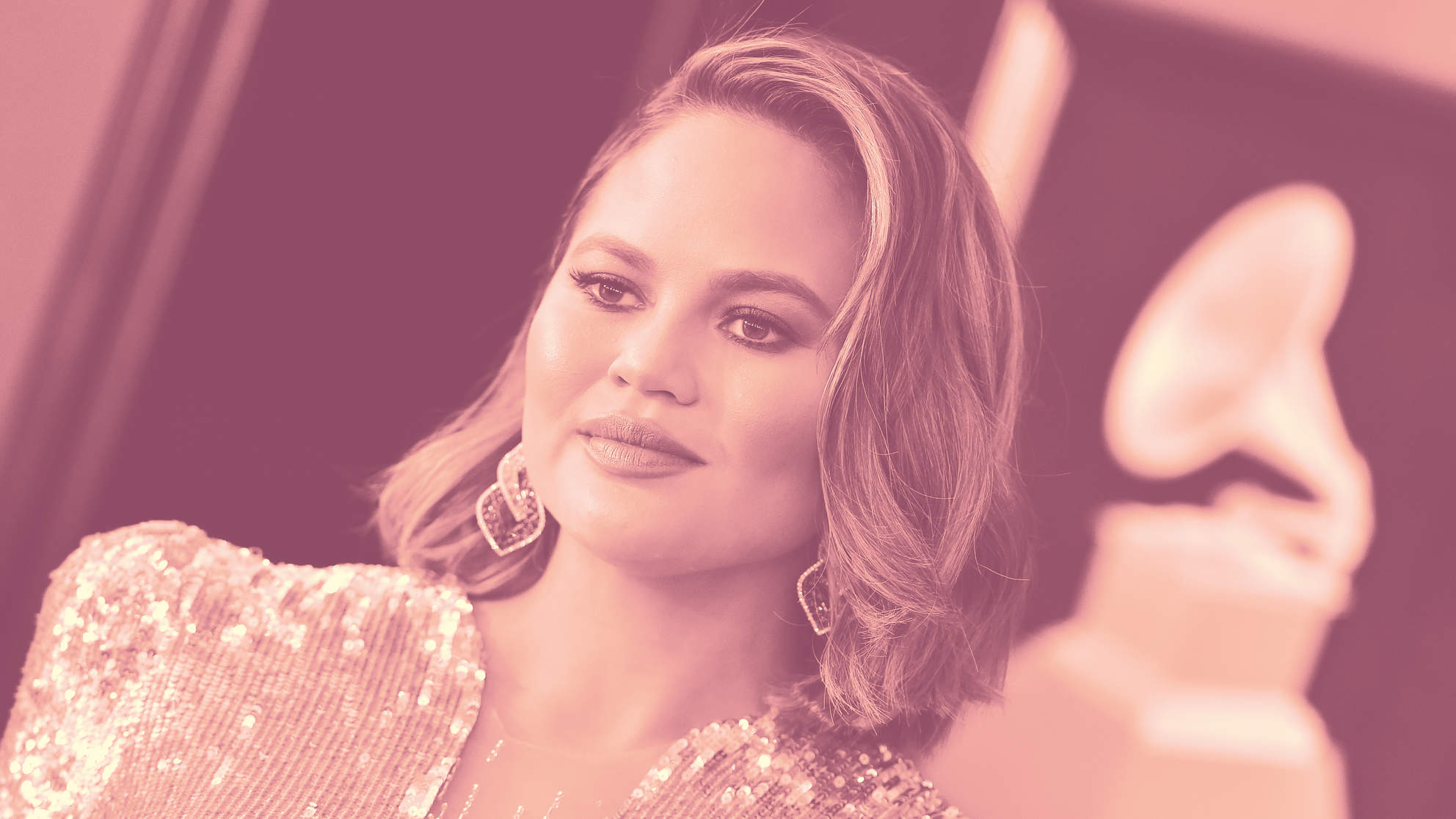 This Tinted Lip Balm Gives Chrissy Teigen Her Natural Glowy Pout