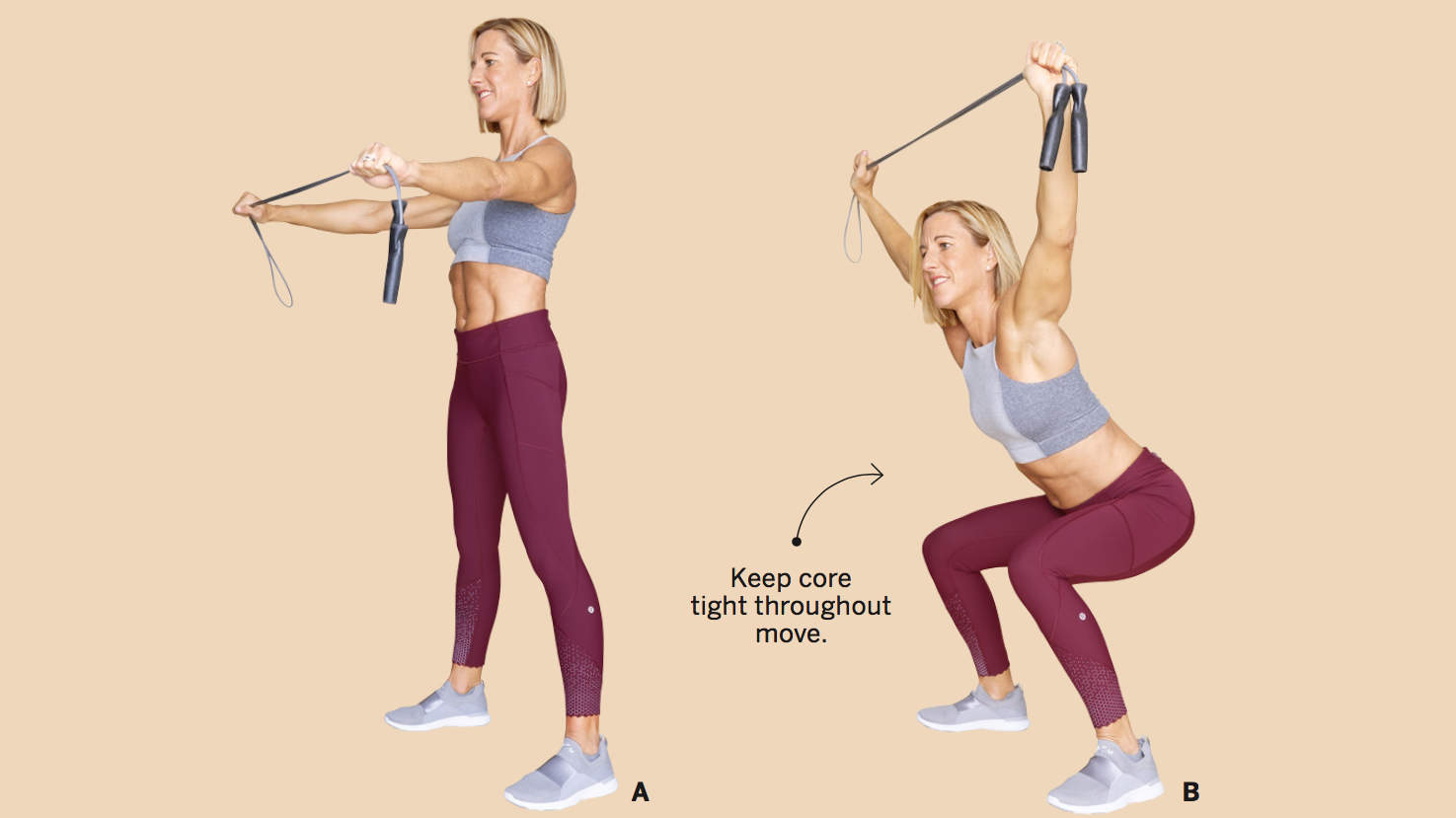 ROPE OVERHEAD SQUAT