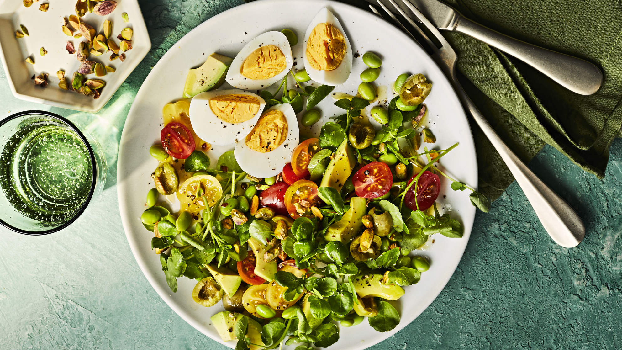 Avocado and Watercress Salad