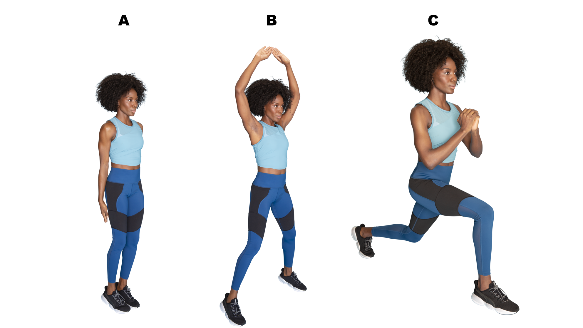 INTERVAL 8 JUMPING JACK TO SWITCH LUNGES