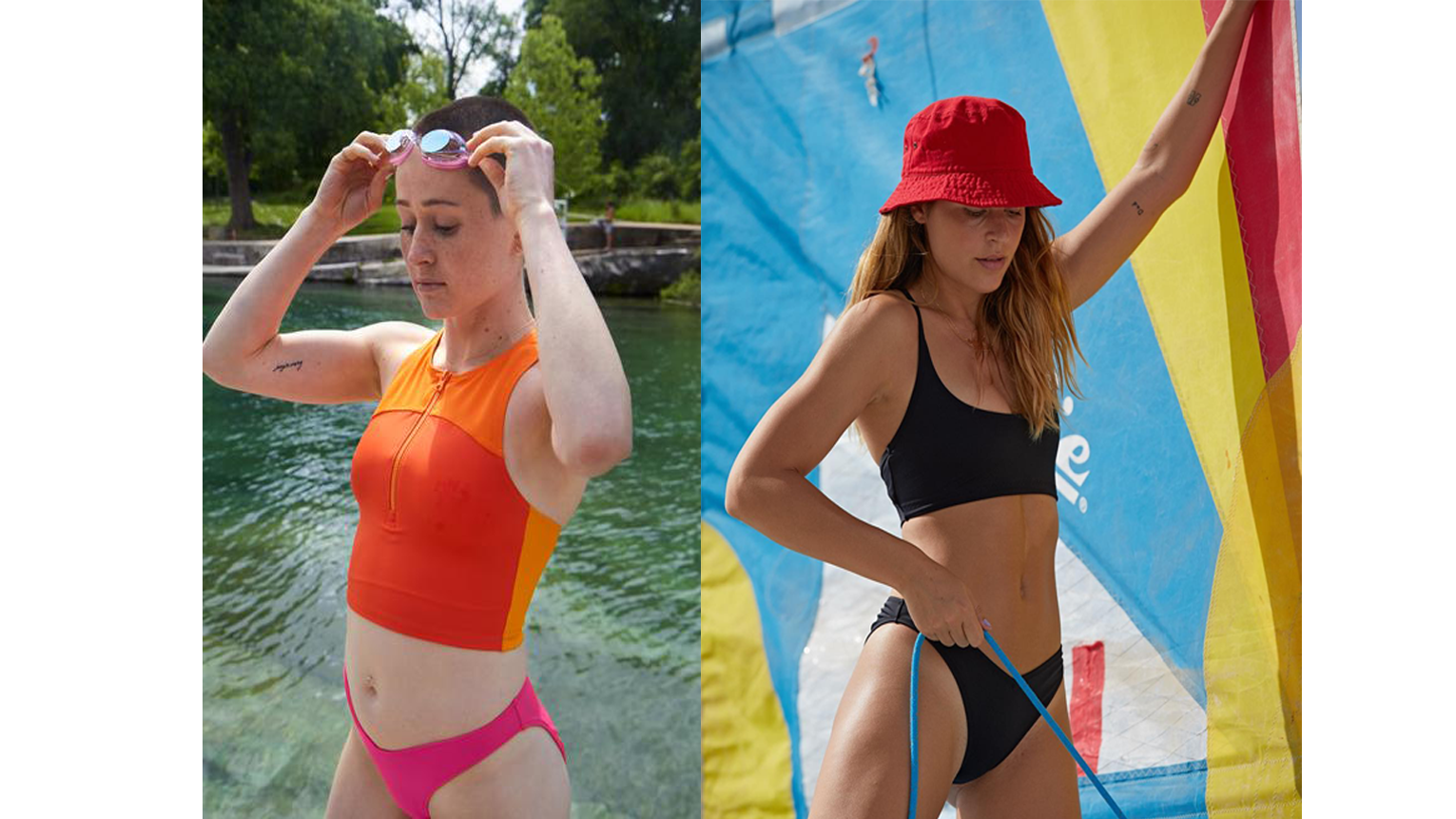Outdoor Voices Had a 10,000-Person Waitlist for Its Last Swimwear Collection—and It Just Dropped New Styles
